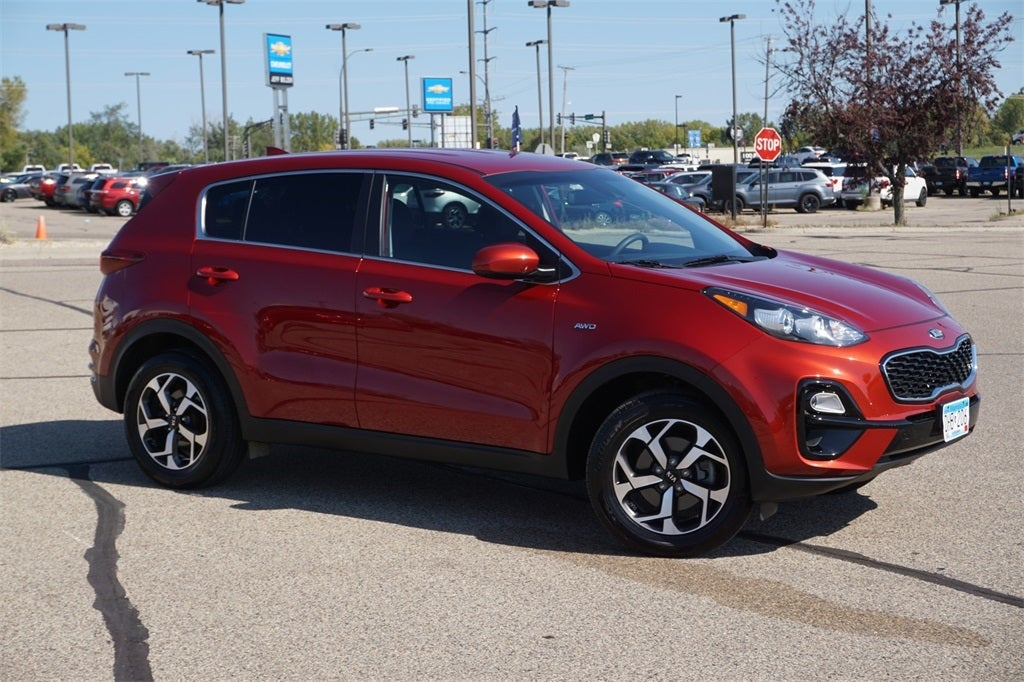 Certified 2020 Kia Sportage LX with VIN KNDPMCAC5L7686772 for sale in Lakeville, Minnesota